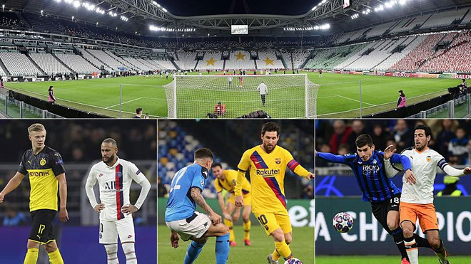Which Champions League and Europa League matches are affected by the Coronavirus?