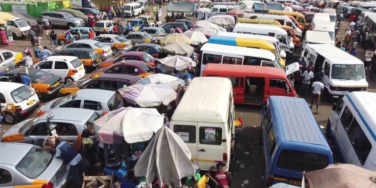COVID-19: Trotro, taxis barred from travelling to locked-down areas