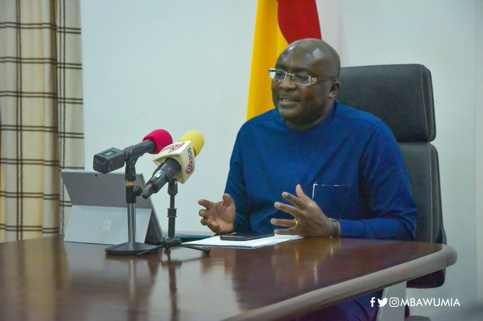 Data is one of the most important weapons for fighting COVID-19 – Bawumia