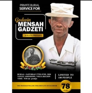 Mr Mensah Gadzi