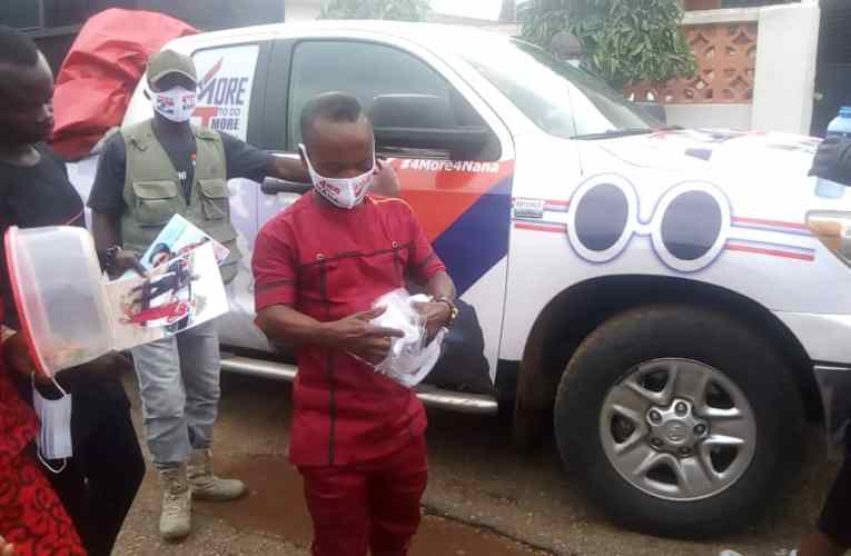 Over One Thousand PPEs ( Nose Masks) Distributed By Pasco Abrantie3 And His Campaign Team.
