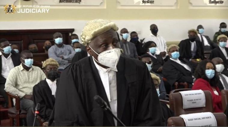 Tsatsu Tsikata, Lead counsel for NDC's John Mahama,