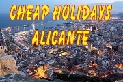 Cheap holidays Alicante