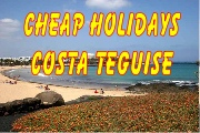Cheap holidays Costa Teguise