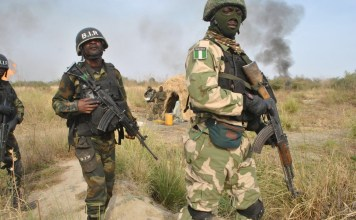 Nigeria Army, Court Marshal, Soldiers, 70
