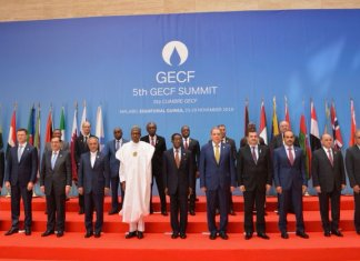 Buhari at Gas Summit