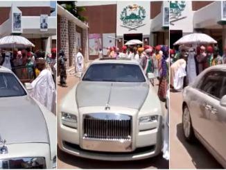 Emir of Kano's car