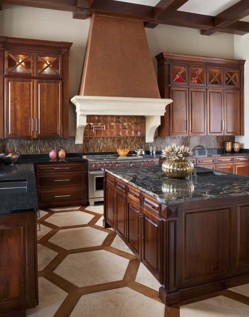 Curly Medley: Titanium Granite Countertop on Backsplash Ideas For Black Granite Countertops And Cherry Cabinets  id=99004