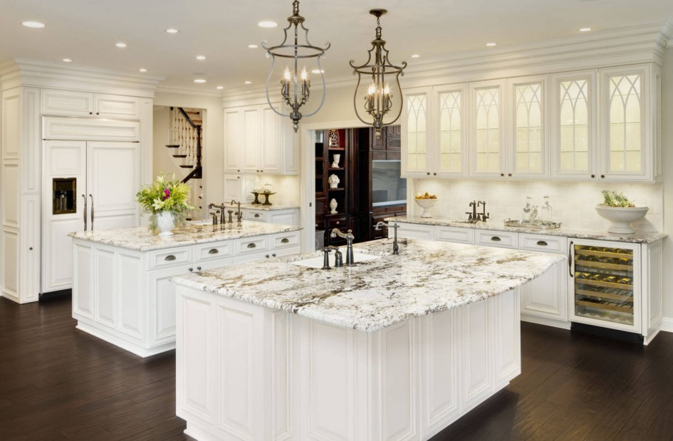 White Ice Granite White Cabinets Backsplash Ideas on Backsplash Ideas For White Cabinets And Granite Countertops  id=63632