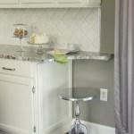 Backsplash Color Selection For White Kitchen