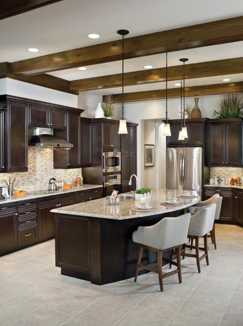 Backsplash Color Selection for Dark Cabinets on Backsplash Ideas For Dark Cabinets  id=82970