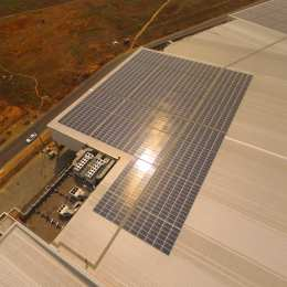 Secunda Mall Solar PV installment