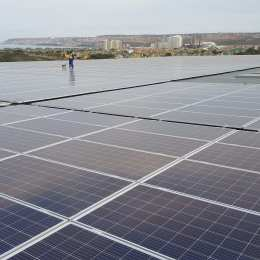 Retail solar system at Langeberg Mall