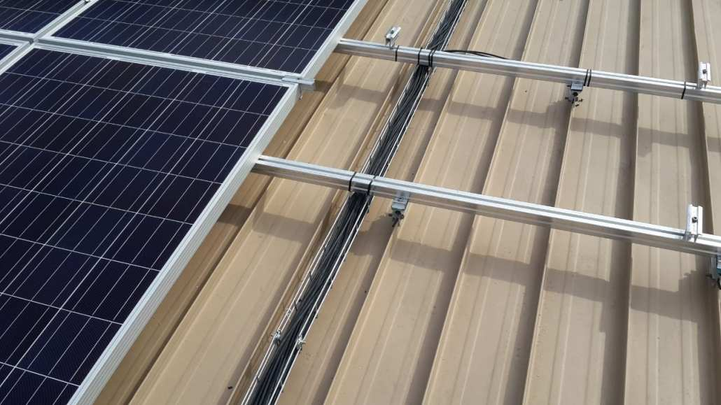 Solar PV module and mounting system
