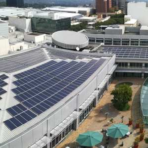 The Zone retail solar PV system Johannesburg