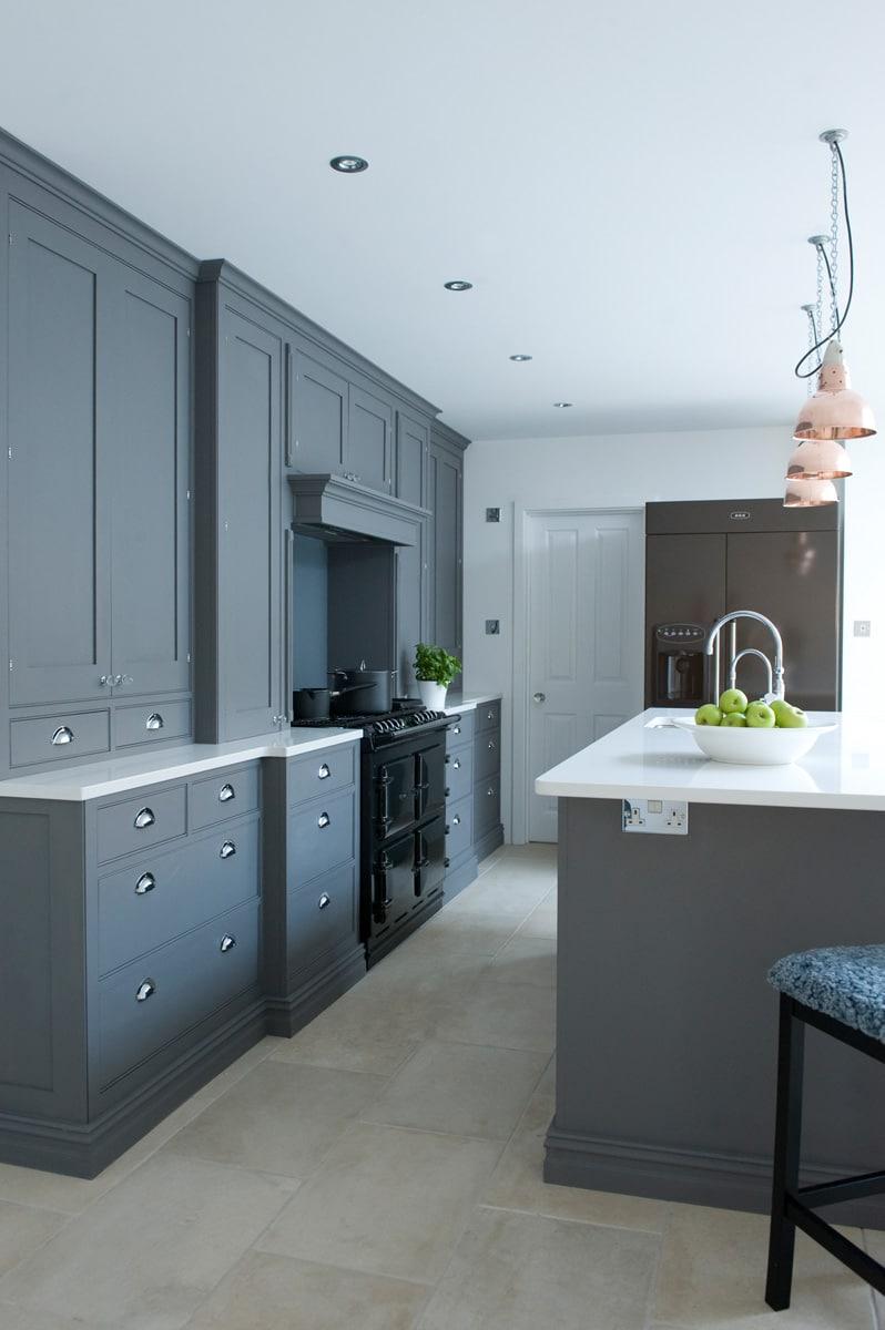 Newport In Dark Grey Sola Kitchens Sola Kitchens
