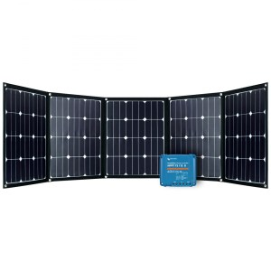 Solar-Set Offgridtec FSP 2 Ultra faltbares Solarmodul 12V 200 Watt + 15A MPPT Solar-Laderegler Smart Solar von Victron Energy