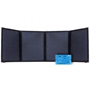 Faltbares 12V Solarpanel 50 Watt mit 10A PWM Laderegler Offgridtec FSP 2 Ultra