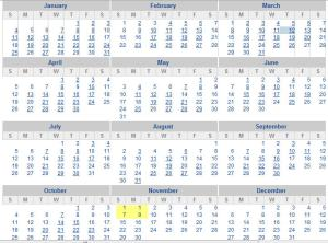 calendar-2009