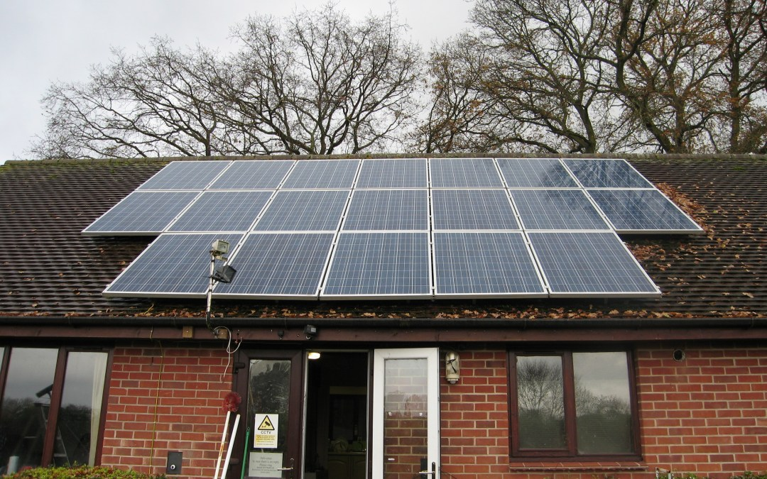 Solar panel cleaners in Reading, Berkshire