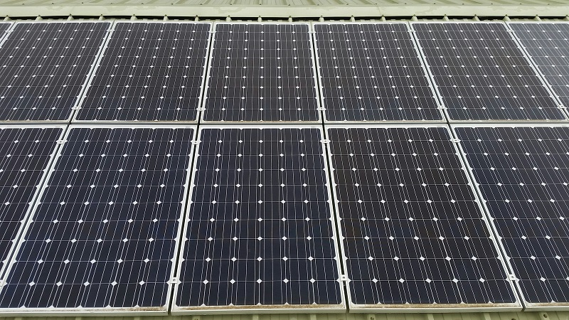 Solar Panel Cleaning For Betapak, Rookley, Isle Of Wight