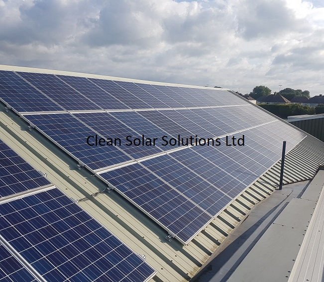 Commercial Solar Panel Cleaning Completed In Cowes, Isle Of Wight