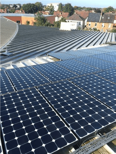 Solar panel cleaning in Twickenham