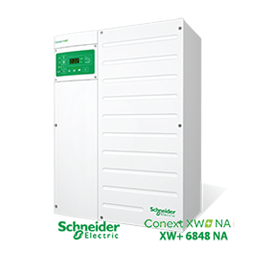 Schneider Electric CONEXT XW+ 6848 6800W 48V 120/240VAC Inverter/Charger