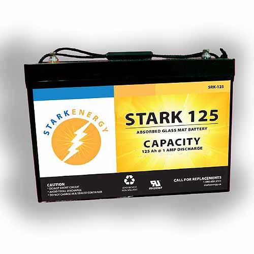Stark SRK-125AGM Maintenance Free Solar Battery