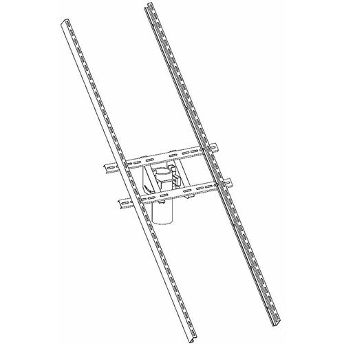 Tamarack Solar UNI-TP/04 Top of Pole Solar Panel Mount