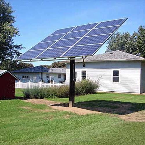 Wattsun Solar Tracker AccuTrak AZ-12 Single Axis Tracker for 9 60 Cell Modules