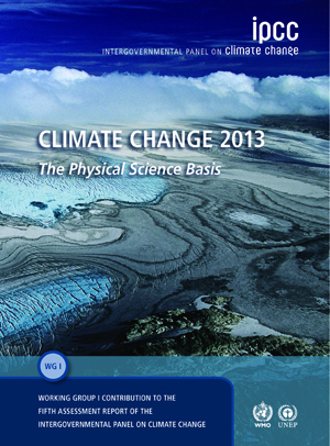 2013 IPCC report cover