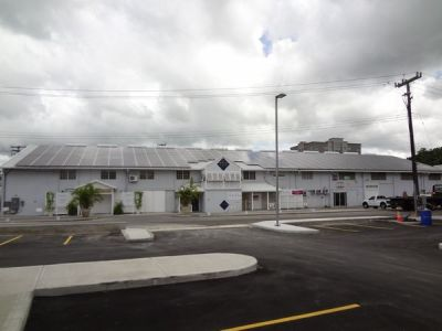 Commercial solar project in St. Michael, Barbados