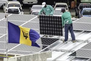 Solar installation in Barbados