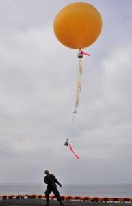 SkySat balloon launch