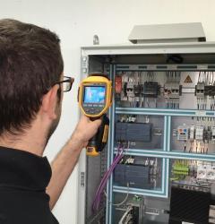 maintenance photovoltaïque thermographie