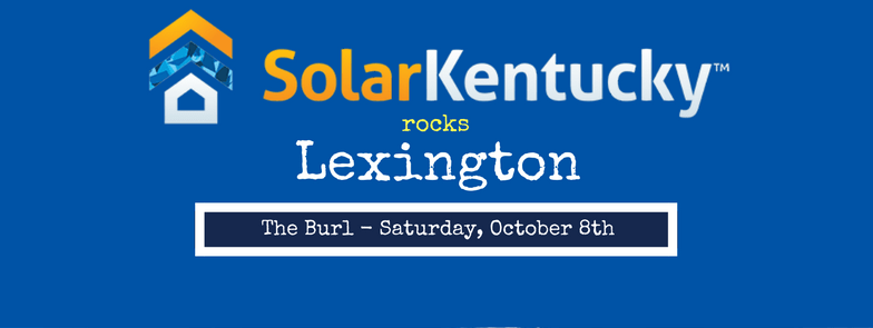 Solar Kentucky Rocks Lexington