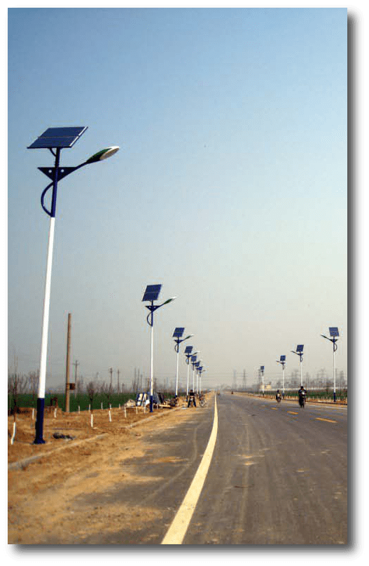 solar street lights product1 - Comparison between Solar LED light and Conventional light