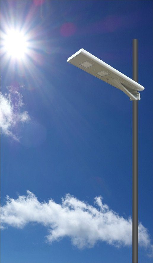 All in one Function 1 - All in one solar street light