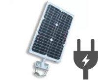 Hybrid All in one solar street light