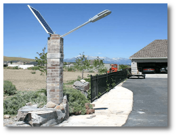 application Ohio USA - Solar Street Lights