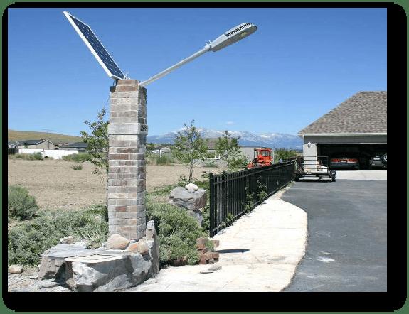 application Ohio USA - Solar Garden Lights