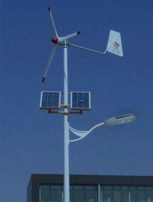 0006 - Solar wind street light