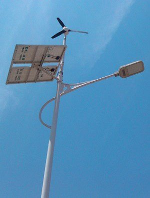 0018 - Solar wind street light