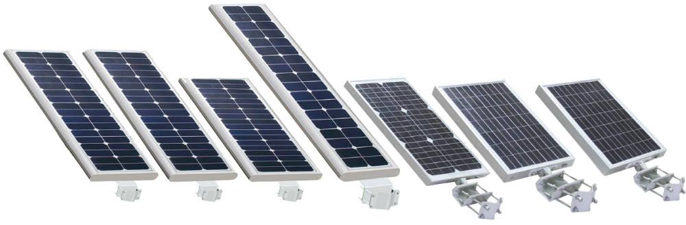 "all in one solar street light series - Luminarias Solares ""Todo en Uno"""