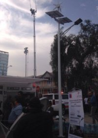 china Solar Wind Hybrid Lighting Project in Chile
