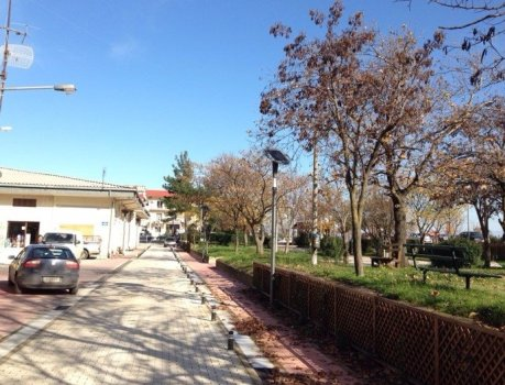 decorative - Decorative Solar Lights Installed in Greece
