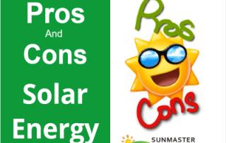 Pros and cons of solar energy - Solar Energy