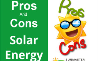 Pros and cons of solar energy - Solar Lights Blog
