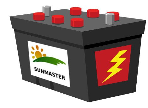 BatterySunmaster - Solar Street Lights for the Desert
